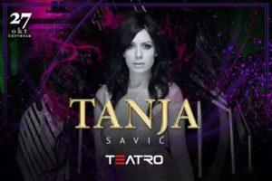 Teatro: Tanja Savić večeras