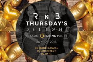 RnB Thursday's Delight večeras u klubu Brankow!