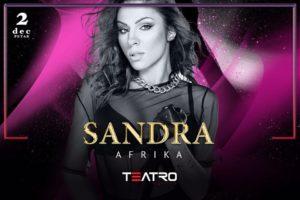 Klub Teatro: Sandra Afrika nastupa večeras