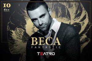 Beca Fantastico u klubu Teatro večeras