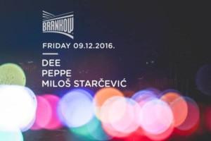 Klub Brankow ovog petka: Dee, Peppe i Miloš Starčević