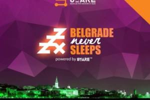 Share: Petkom Beograd nikad ne spava!