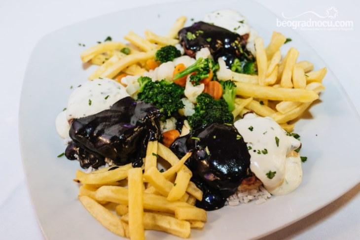 Hrana u restoranu Milošev konak