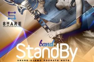 SHARE: Budite uz StandBy bend ove subote!