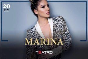 Klub Teatro: Nastup Marine Visković večeras