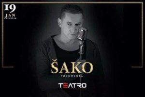 Teatro: Nastup Šaka Polumente večeras