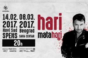 Hari Mata Hari najavljuje dva SPEKTAKLA u Srbiji!