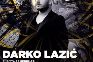 Darko Lazić u klubu Gotik večeras