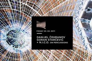 Klub Brankow: Danijel Čehranov, Goran Starčević i N.I.C.O. on percussions ovog petka