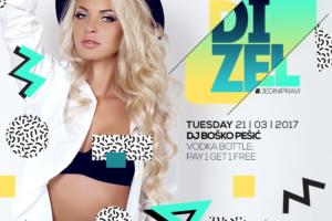 Mr. Stefan Braun tonight – DIZEL party