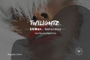 Subota u klubu Tash Machine uz Twilightz!