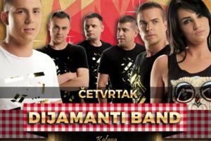 Dijamanti Band u kafani Perper Merak večeras