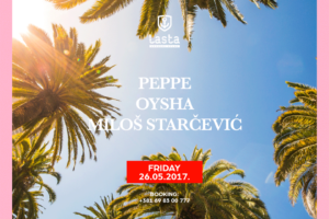 Peppe, Oysha, Milos Starcevic tonight – Club Lasta