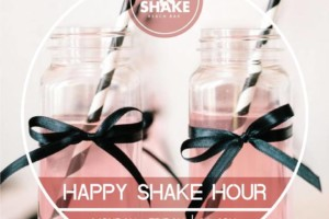 Happy Shake Hour – splav Shake N Shake