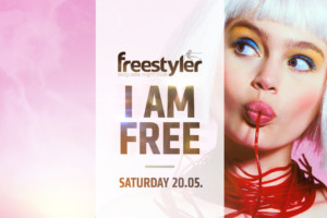 I am FREE – Club Freestyler tonight