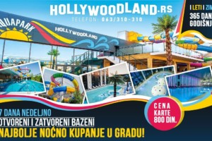 Doživite pravu letnju avanturu u Aqua Parku Hollywoodland!