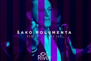 Petak veče uz Šako Polumenta – Splav River