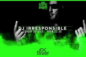 Dj Irresponsible na splavu River – RnB veče