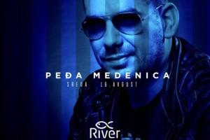 Večeras na splavu River nastupa Peđa Medenica