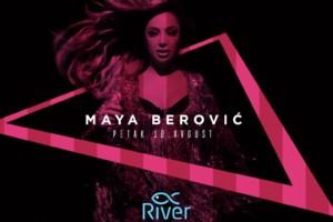 Maja Berović na splavu River ovog petka