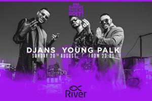 Večeras na splavu River nastupaju Djans & Young Palk