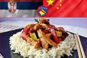 Nedeljni ručak u Korčaginu: Današnji specijalitet – piletina na kineski način!