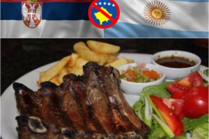 Argentinska BBQ rebra – današnji specijalitet u Korčaginu!