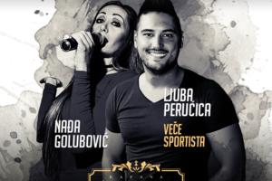 Veče sportista sa Nađom Golubović i Ljubom Perućicom u kafani Teatro!