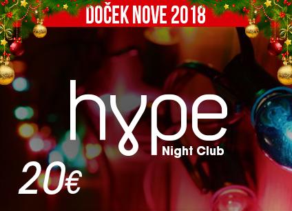 Docek Nove godine Beograd 2018 Klub Hype