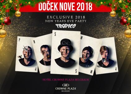 Docek Nove godine Beograd 2018 Hotel Crowne Plaza