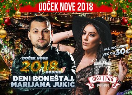 Docek Nove godine Beograd 2018 Kafana Moj Grad