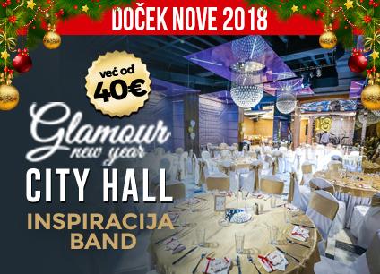 Docek Nove godine Beograd 2018 Restoran City Hall