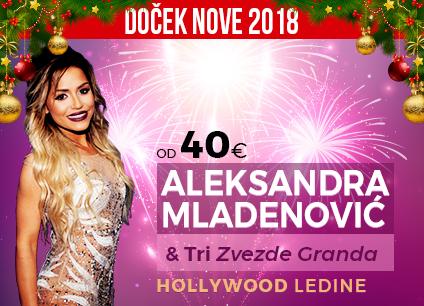 Docek Nove godine Beograd 2018 Restoran Hollywood Ledine