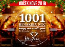 Docek Nove godine Beograd 2018 Klub Ben Akiba