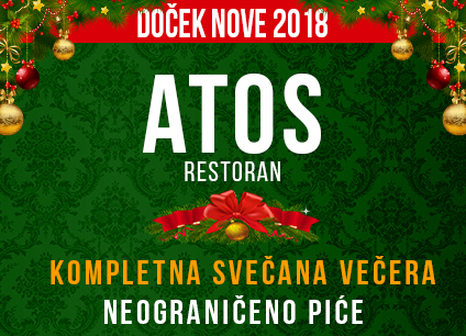 Docek Nove godine Beograd 2018 Restoran Atos