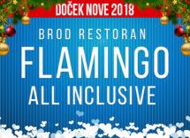 Docek Nove godine Beograd 2018 Restoran Brod Flamingo