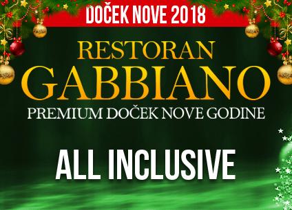 Docek Nove godine Beograd 2018 Restoran Gabbiano