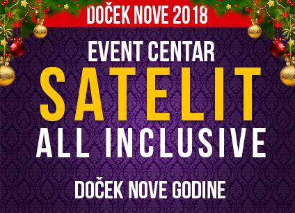 Docek Nove godine Beograd 2018 Restoran Satelit Kosutnjak