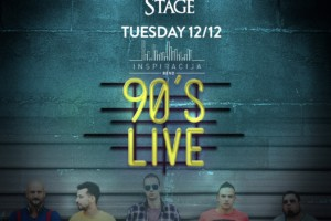 Freestyler Winter Stage: 90's Live night – Inspiracija Band