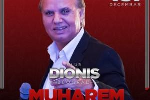 Klub Dionis vam nudi fenomenalan provod ovog petka uz Muharema Serbezovskog