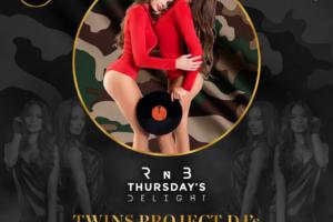 Klub Brankow  večeras – RNB Thursday's Delight i specijalne gošce iz Moskve – TWINS PROJECT DJ's