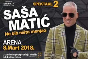 Karte za koncert Saše Mtića i koncert Seke Aleksić možete kupiti pozivom našeg korisničkog centra