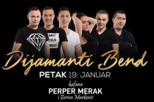 Samo za Vas u kafani Perper Merak – Dijamanti Band