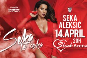 Karte za koncert Seke Aleksić obezbedite na vreme pozivom našeg korisničkog centra