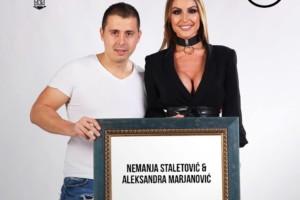 Aleksandra Marjanović i Nemanja Staletović večeras garantuju dobar provod u kafani Ona Moja!