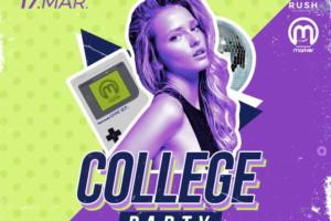 I ovo veče je rezervisana za College Party u klubu Rush!