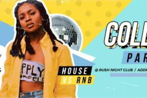 College Party  i ove subote u klubu Rush!