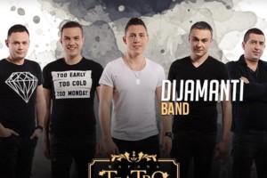 Subota je rezervisana za kafanu Teatro i najbolji provod uz Dijamanti bend!