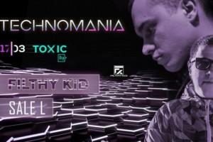 Technomania i Toxic bar Vam predstavljaju naš dobro provereni recept unije nove i iskusne energije techno muzike