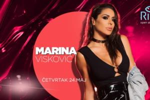 "Večeras vas čeka ""LUDILO"" na splavu River jer Marina Visković  peva za vas!"